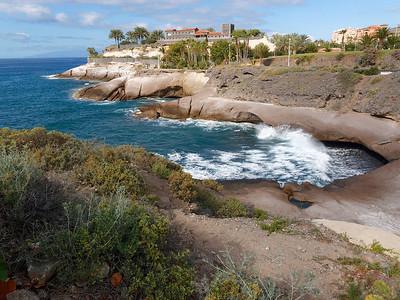 Costa Adeje : la côte rocheuse