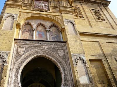 La Puerta del Perdón, principal accès au Patio de los Naranjos (Cour des orangers)