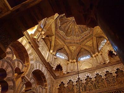 La coupole de la maqsura, espace de prière