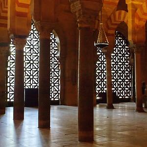À l'intérieur de la Mezquita
