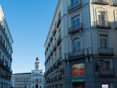 Vers la Puerta del Sol