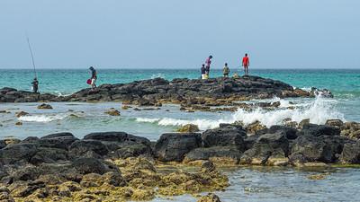 Grand Baie - Pêche dans l'océan Indien
