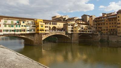 Le célèbre Ponte Vecchio