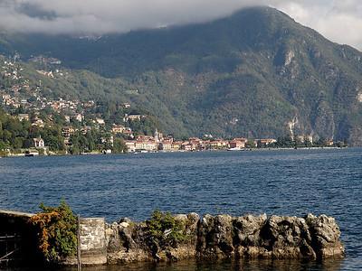 Le village de Menaggio vu depuis Griante