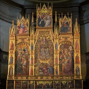 Le tryptique de l'Assomption de le Vierge