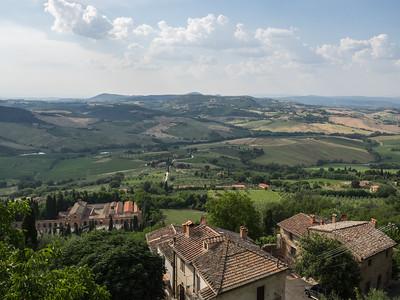La campagne autour de Montepulciano