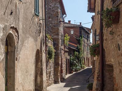 Le village de Montefollonico