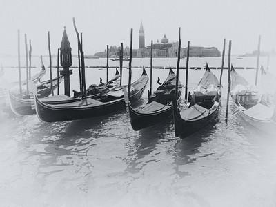 Calme sur la lagune -  Venise 2009