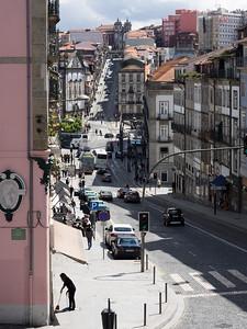 Ça descend et ça monte, à Porto...