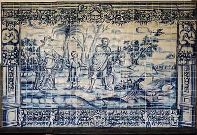 Les azuleros remplacent les fresques peintes