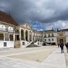 L'esplanade du palais de l'Alcaçova