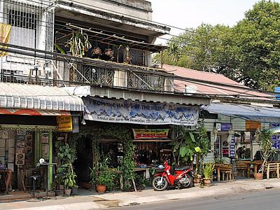 Les Thaïs aiment les plantes
