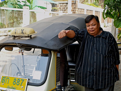 Chauffeur de tuk-tuk