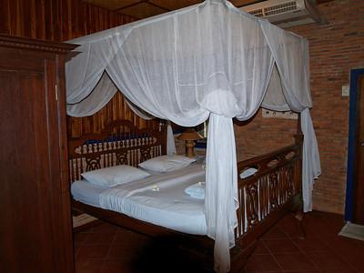 Du mobilier traditionnel dans toutes les chambres