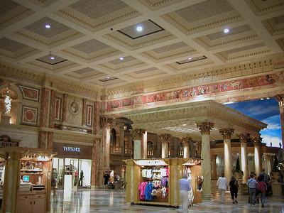 Boutiques de luxe au Caesars Palace