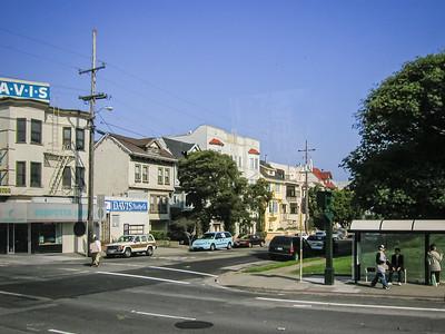 Une rue de SF, dans un quartier tranquille...