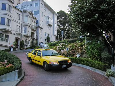 La célèbre Lombard Street, sur Russian Hill