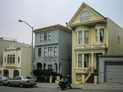 Architecture typique des rues de la ville