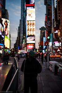 Face à Time Square