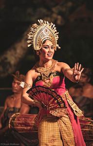 Danseuse en exercice