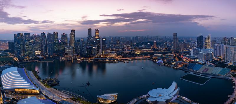 Singapore - Regard vers le futur