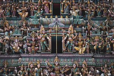 Fronton de temple