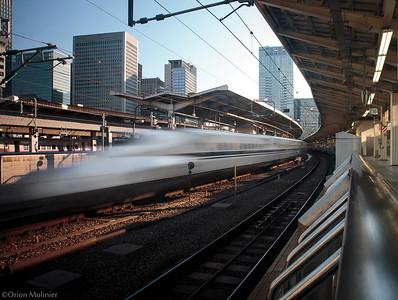 Shinkansen au départ