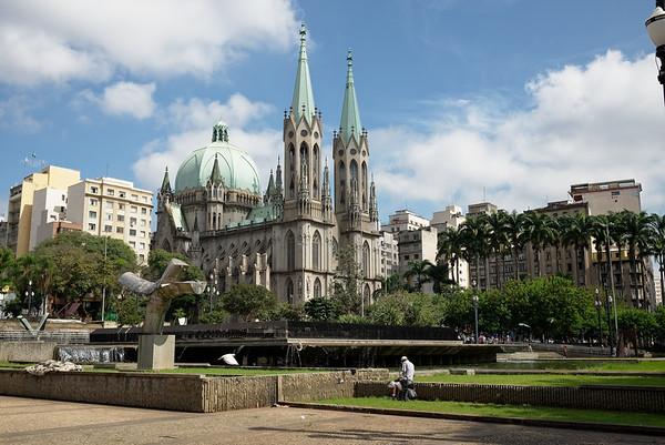 Cathédrale métropolitaine de São Paulo