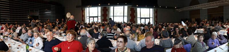 Castelnaudary, banquet de la foire au gras
