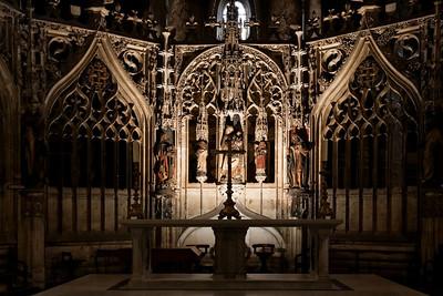 Le Chœur, la Vierge à l'Enfant, Cathédrale d'Albi