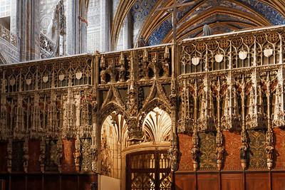 Jubé et Ste Cécile, Cathédrale d'Albi