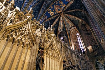Le Chœur, Cathédrale d'Albi