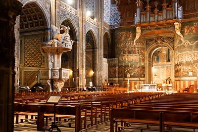 Nef, Cathédrale d'Albi