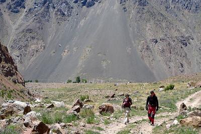 Aconcagua: Départ pour 3 jours de Trek...