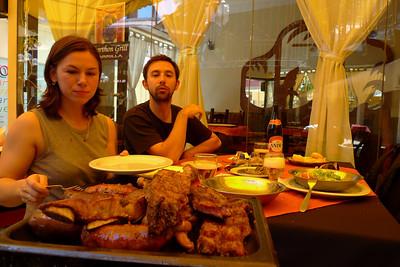 Aconcagua: Départ de Mendoza, une ville bien connue pour sa viande...