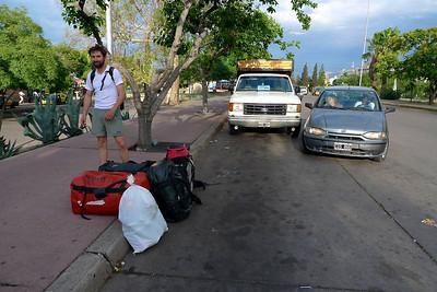 Départ de Mendoza en bus pour Tunuyan, puis 2h00 de 4x4