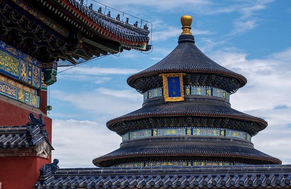 Tiantan Park, Beijing, China.  6/13/2015