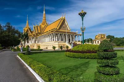 Phnom Penh - Visite du Palais Royal