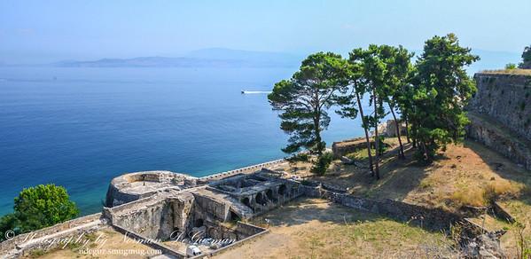 View of Notio Steno Keriras