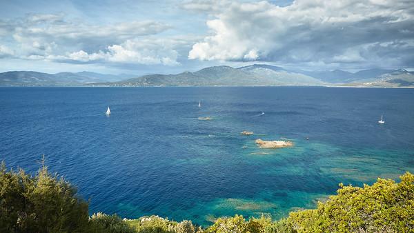 Punta di Campomoro, Corse, France