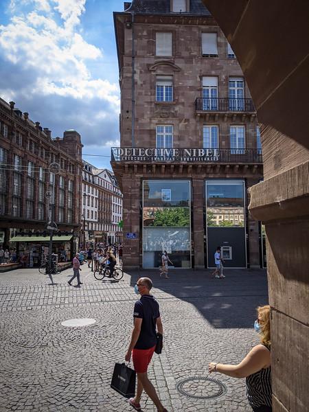 Strasbourg. Juillet 2020