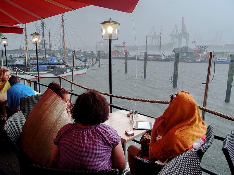 Port de Hambourg. Juillet 2013