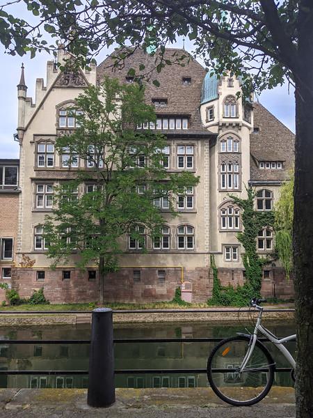 Lycée international des Pontonniers. Strasbourg. Juillet 2020