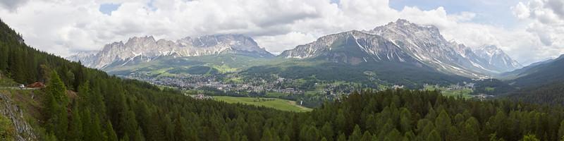 Cortina d'Ampezzo, Dolomites, Italie