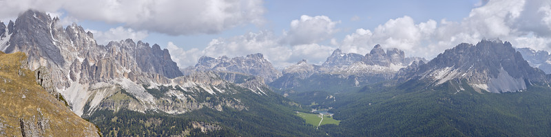 Lago di Misurina, Dolomites, Italie