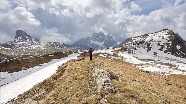 Monte Antelao, Dolomites, Italie