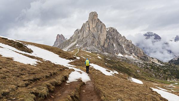 Nuvolau, Dolomites, Italie