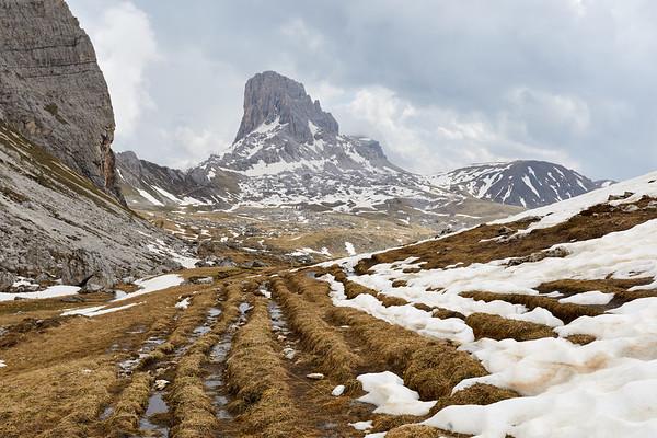 Becco di Mezzodi, Dolomites, Italie