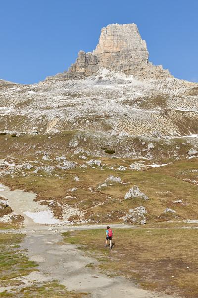Torre di Toblin, Dolomites, Italie
