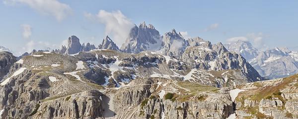 Cima Eotvos, Dolomites, Italie